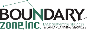 Boundary Zone Land Surveyor Logo